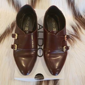 ALDO Grandora women's monk strap oxford loafers